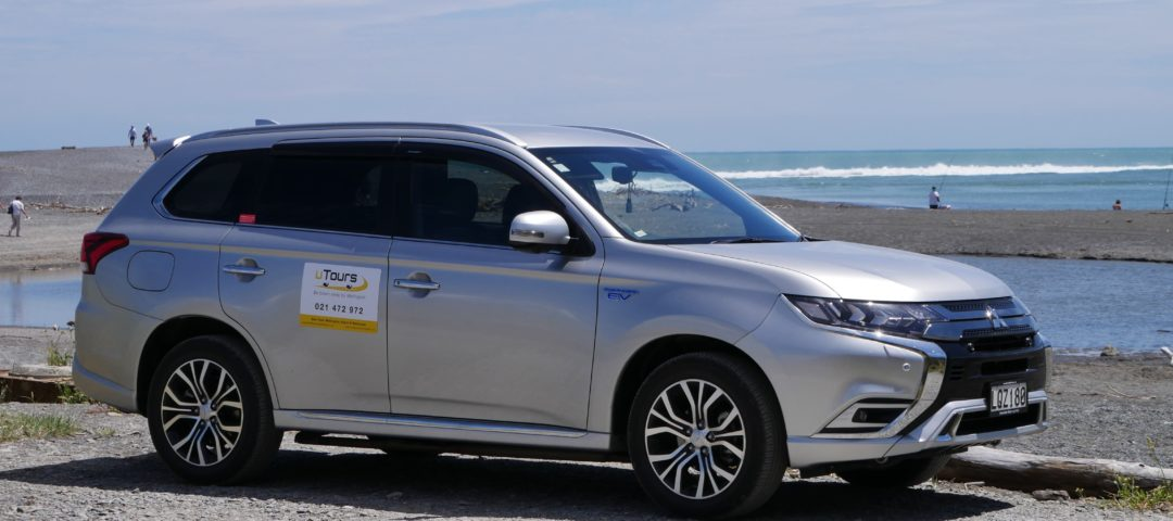 uTours Wellington Electric Hybrid Outlander Comfortable Vehicle Sustainable Tourism