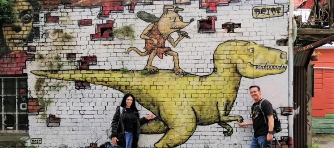 Wellington Street Art Toi Art uTours Wellington Waterfront Te Wharewaka o Poneke